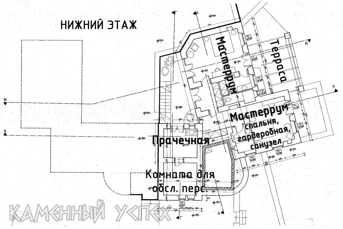 План дома 1 этаж