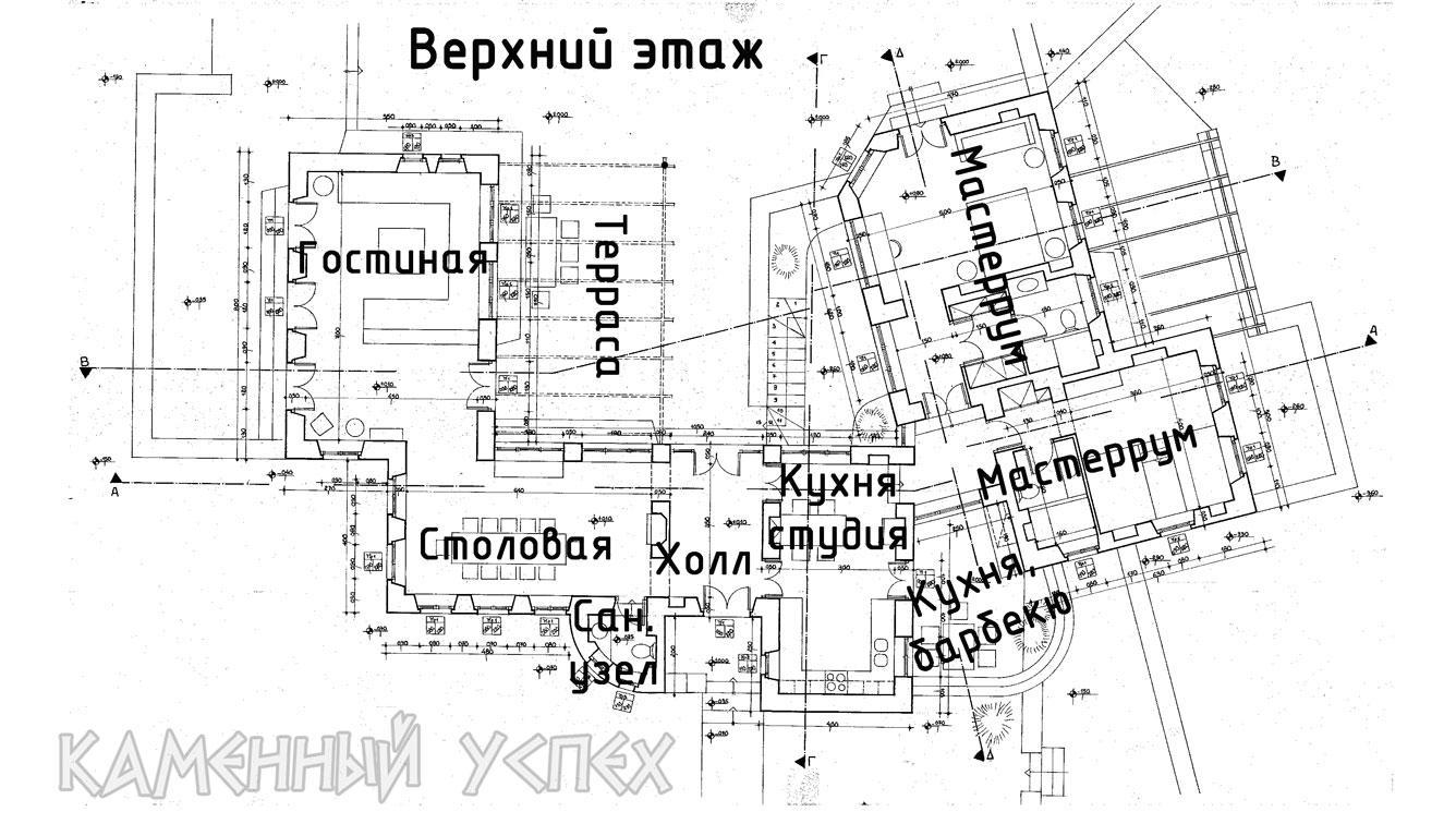 План дома 2 этаж