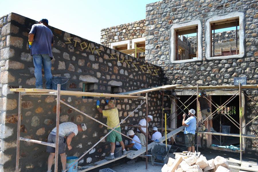 Строим дом в 2 этажа. Бойницы