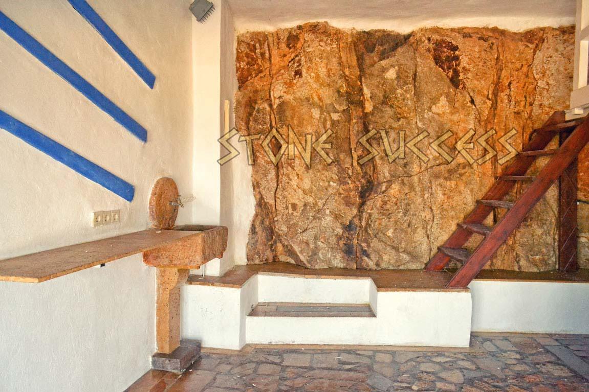 раковина каменная
