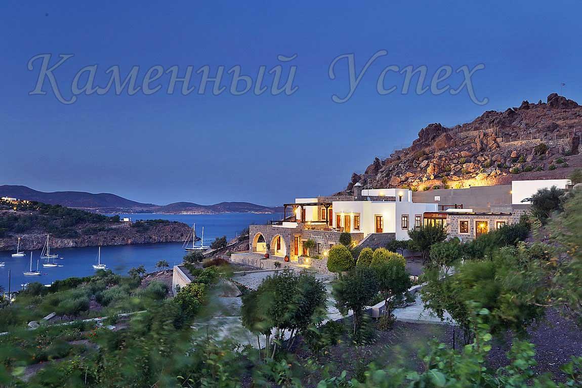 продается вилла на берегу Эгейского моря