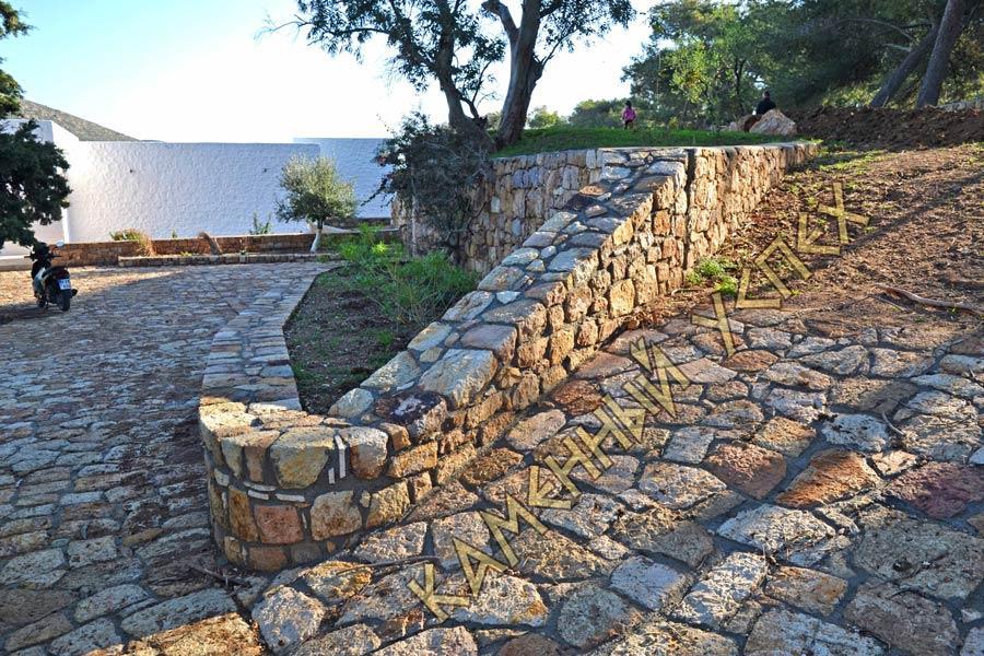 Каменная мостовая. Процесс строительства