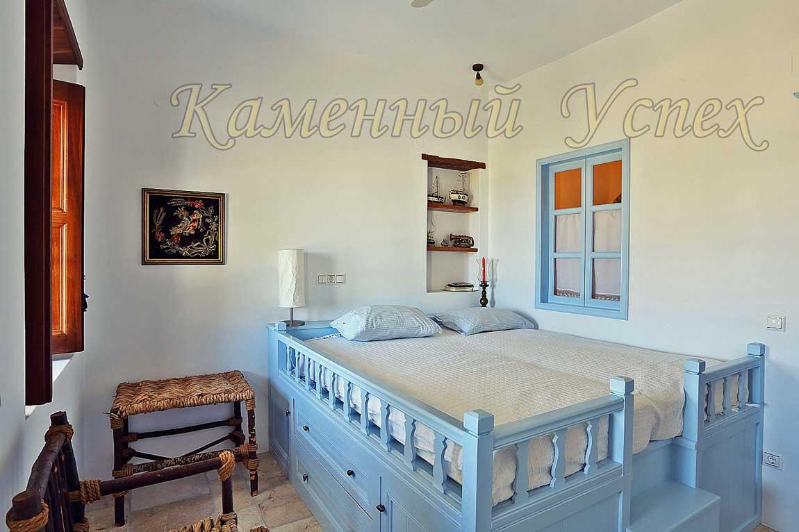 греческий стиль спальни