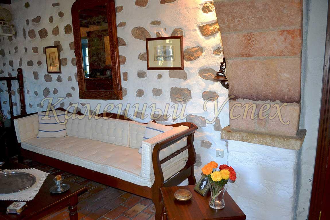 гостиная интерьер Греции
