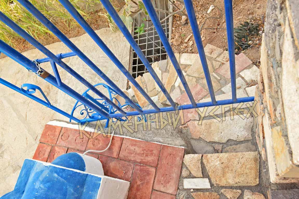 каменная лестница строительство