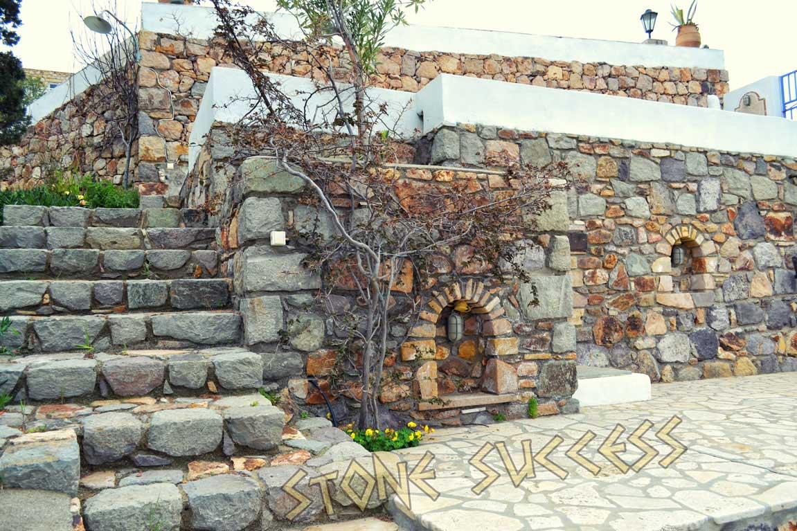 каменный замок Патмос Греция
