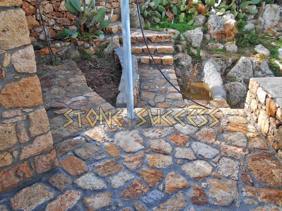сад из камней Патмос Греция