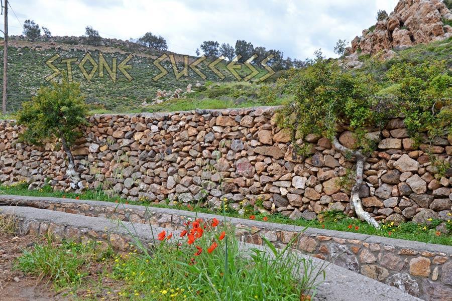речка и забор с цветущими маками