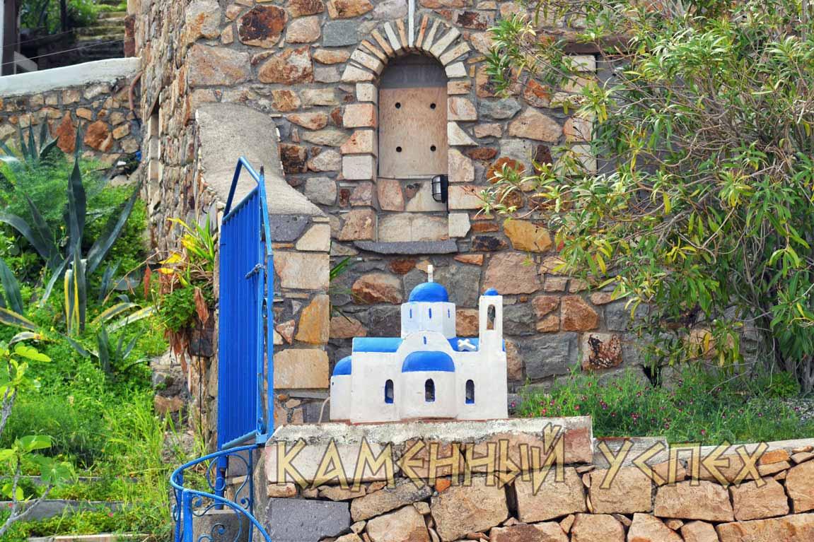 маленький храм Греция остров Патмос