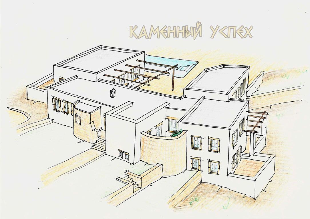 план дома 3D