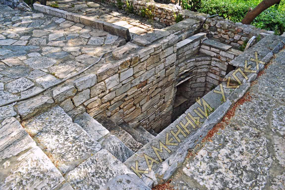 кладка погреба из камня фото красиво