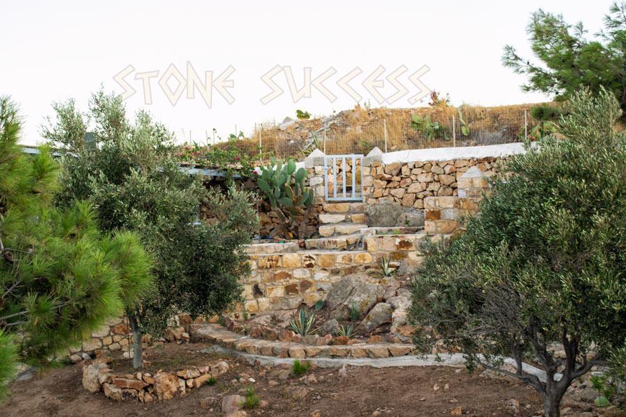 частные сады в Греции