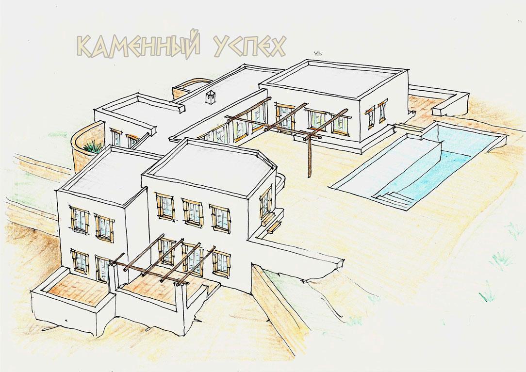 проекты домов на острове Патмос