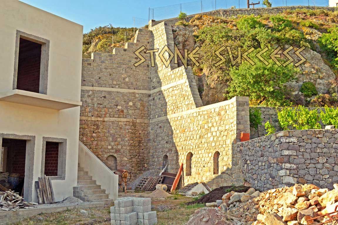 подпорная стена строительство