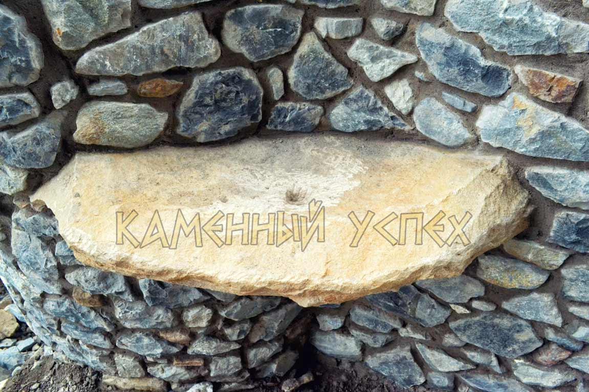 умывальник из камня