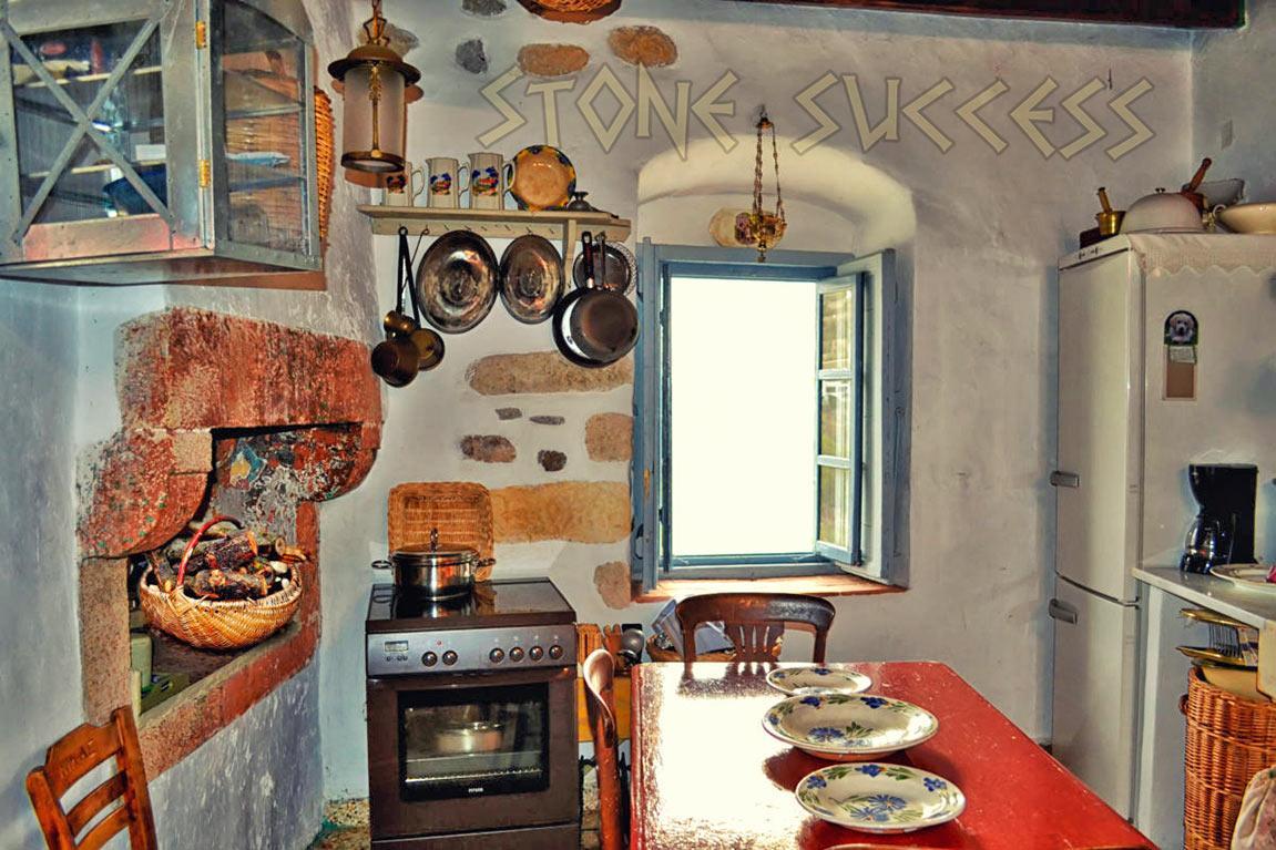 интерьер кухня Греции