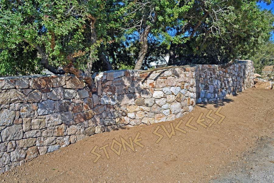 забор подпорная стена